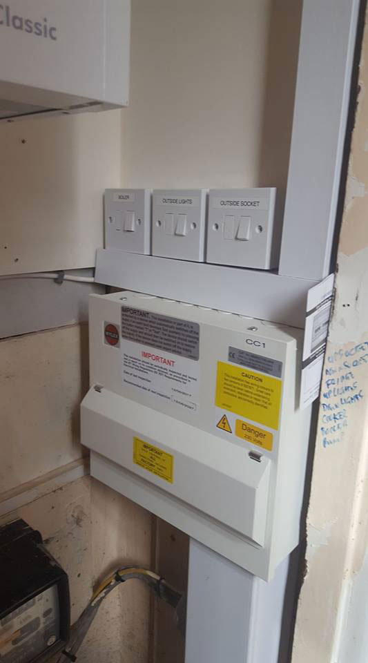 Gallery of Electrical Work by Electrician in Sheffield, Elite Power